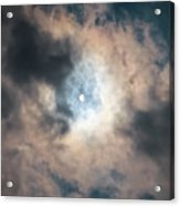 Solar Eclipse No Filter Acrylic Print
