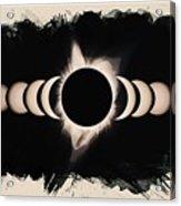 Solar Eclipse Phases 2 Acrylic Print