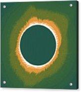 Solar Eclipse Poster 2 Acrylic Print
