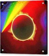 Solar Eclipse Spectre Acrylic Print