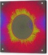 Solar Eclipse Spectrum 3 Acrylic Print