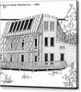 Solar House Acrylic Print