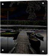 Solar Lake Acrylic Print