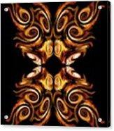 Solar Moth Acrylic Print