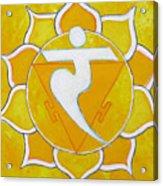 Solar Plexus Chakra - Manipura Acrylic Print