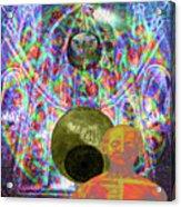 Solar Plexus Spirit Acrylic Print by Joseph Mosley