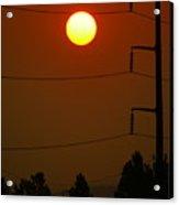 Solar Power Lines Acrylic Print
