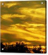 Solar Storm Sunset Acrylic Print