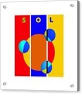 Solar Style Acrylic Print