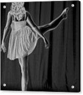 Solarized Dancer Acrylic Print