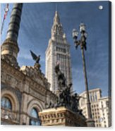 Soldiers' And Sailors' Monument Acrylic Print