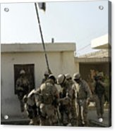 Soldiers From The Iraqi Special Forces Acrylic Print