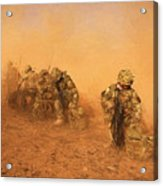 Soldiers In The Dust 4 Acrylic Print