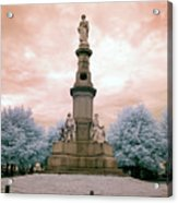 Soldier's Monument Acrylic Print