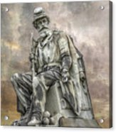 Soldiers National Monument War Statue Gettysburg Cemetery  Acrylic Print