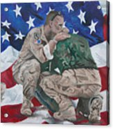 Soldiers Acrylic Print