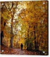 Solitary Man Acrylic Print