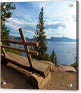 Solitude At Crater Lake Acrylic Print