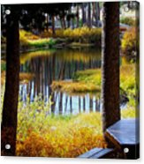 Solitude At Donner Pass Acrylic Print