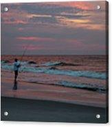 Solitude At Sunrise Acrylic Print