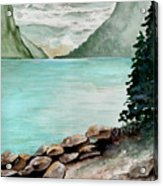 Solitude Of The Lake Acrylic Print