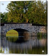 Solivita Stone Bridge Acrylic Print