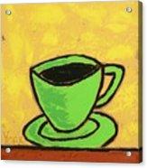 Solo Coffee II Acrylic Print