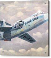 Solo Starfighter Acrylic Print