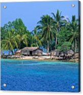 Soloman Islands Acrylic Print