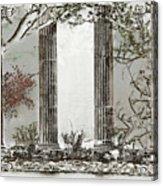 Solorised Pillars Acrylic Print