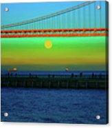 Solstice Bay Acrylic Print