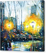 Solstice In The City, Vol.1 Acrylic Print