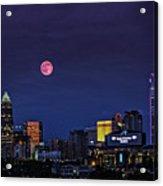 Solstice Strawberry Moon Charlotte, Nc Acrylic Print