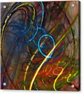Some Critical Remarks Abstract Art Acrylic Print