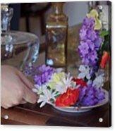 Some Floral Tea? Acrylic Print
