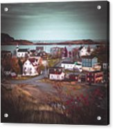 Some Town Acrylic Print