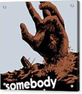Somebody Talked - Ww2 Acrylic Print