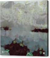 Someone Behind The Clouds Acrylic Print