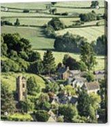 Somerset Church Acrylic Print