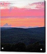 Somerset Sunset Horizontal Acrylic Print