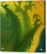 Something Green Acrylic Print
