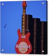 Hard Rock Cafe Sign In Baltimore Acrylic Print