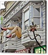 Something To Find Only The In The Haight Ashbury Acrylic Print