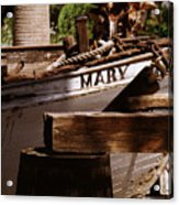 Someting About Mary Acrylic Print