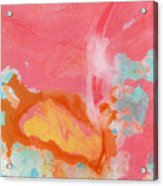 Somewhere New 2- Abstract Art by Linda Woods Acrylic Print