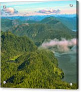 Over Alaska - June  Acrylic Print