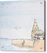 Somnath Jyotirling Acrylic Print