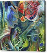 Song Of Borrowed Time Acrylic Print