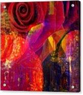Song Of Solomon - Rose Of Sharon Acrylic Print