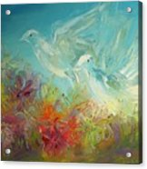 Song Of Solomon 2 12 Holy Scripture  Acrylic Print